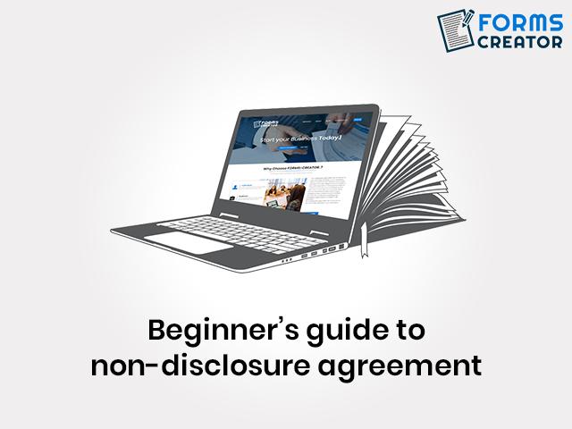 Basics on Non Disclosure Agreement - NDA Form - Forms Creator
