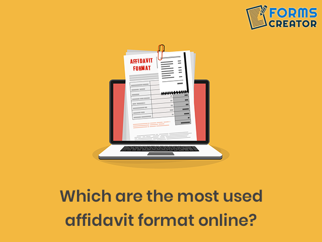 Free Affidavit Forms Online - Forms Creator