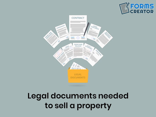 Legal Documents required for Selling Property - Forms Creator