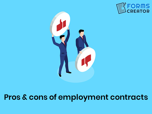Employment Contract Pros & Cons - Forms Creator