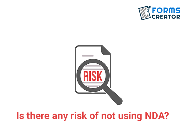 Risks of not using NDA Form - Forms Creator